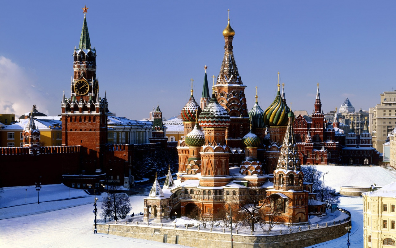 Kremlin Moscow Winter wallpapers