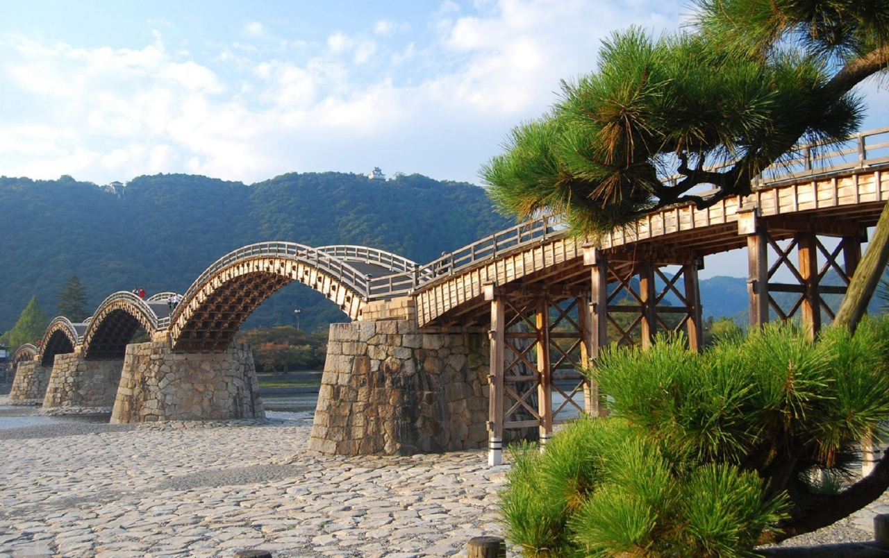 wooden bridge wallpaper - photo #14
