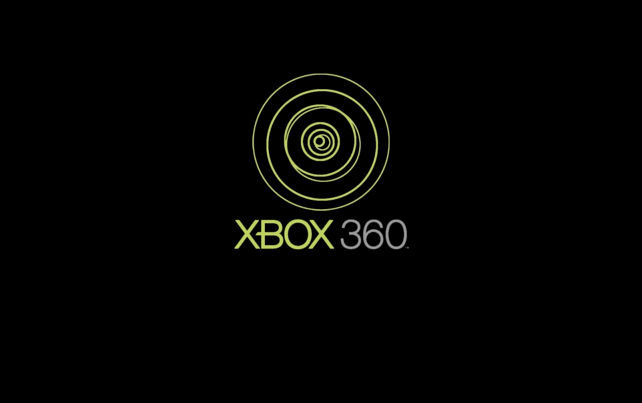 Xbox 360 black wallpapers