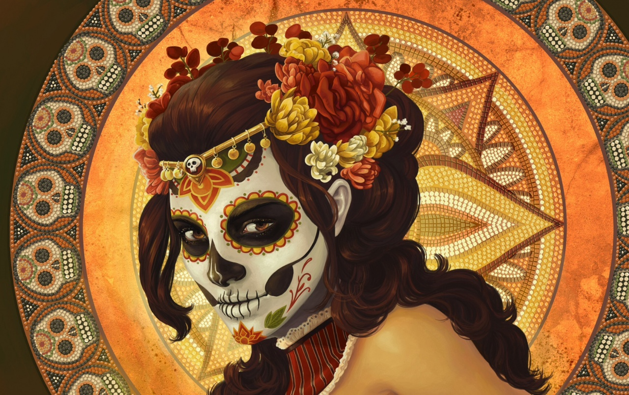 Dia de Muertos Painting wallpapers