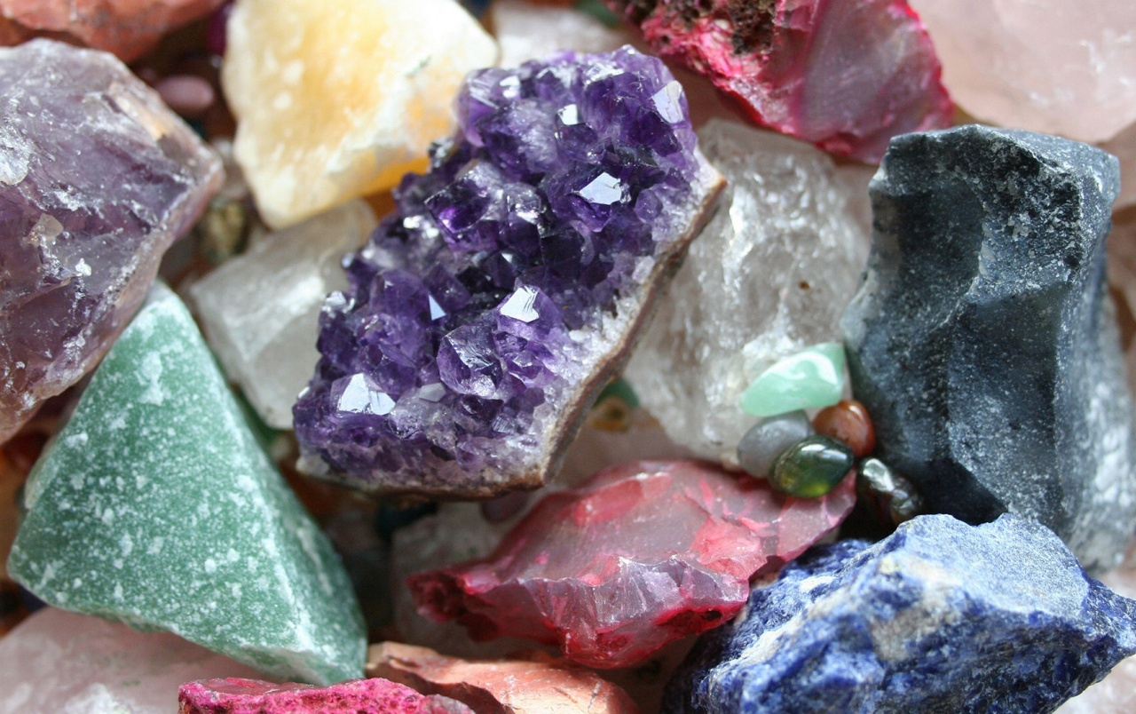 how to find crystals in nature