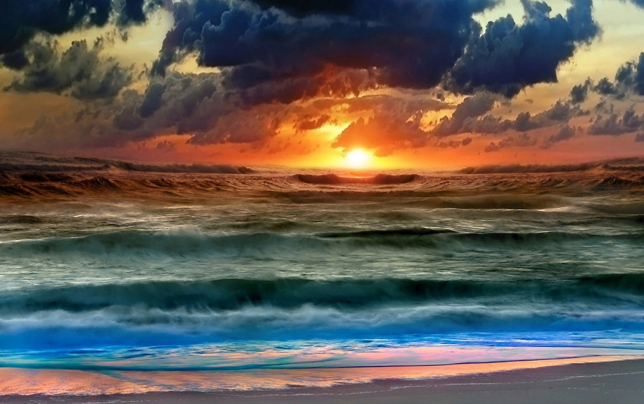 colorful sunset wallpapers | colorful sunset stock photos