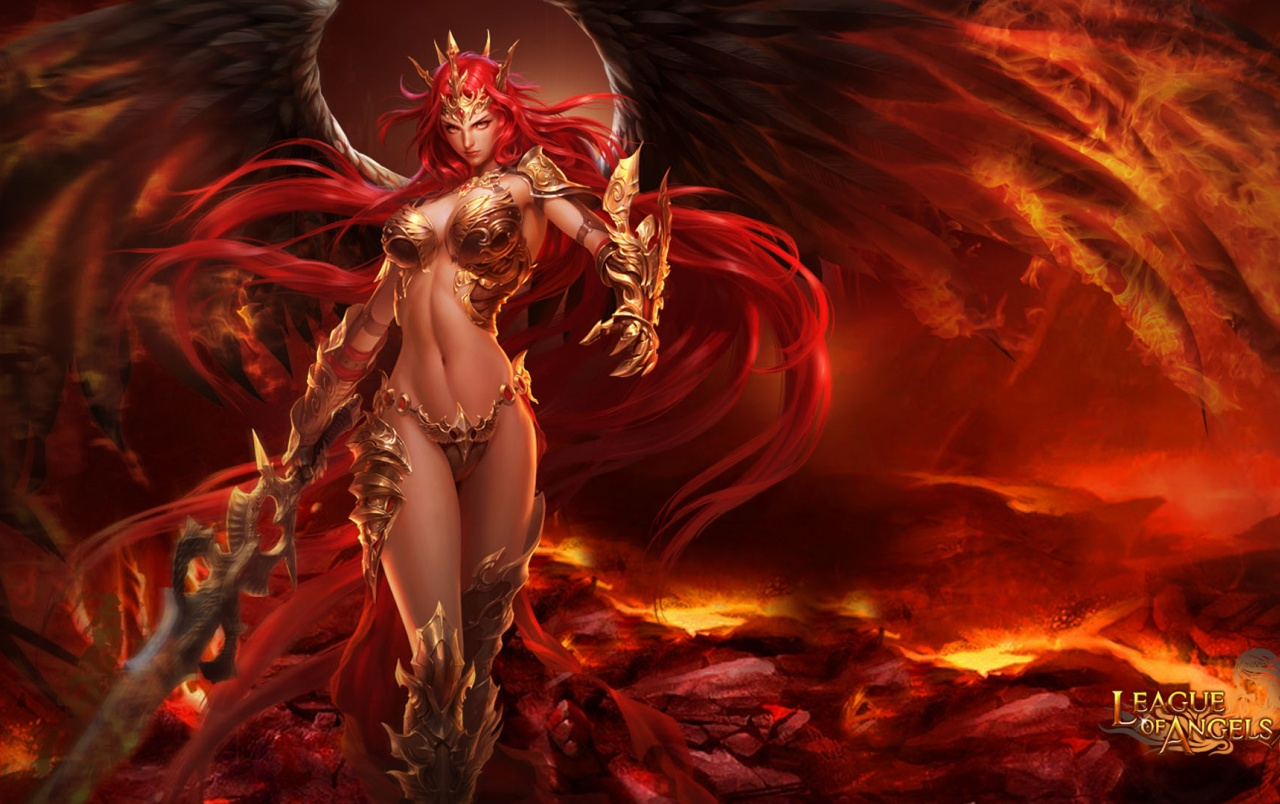OriginalHD League of Angels - Amora wallpapers