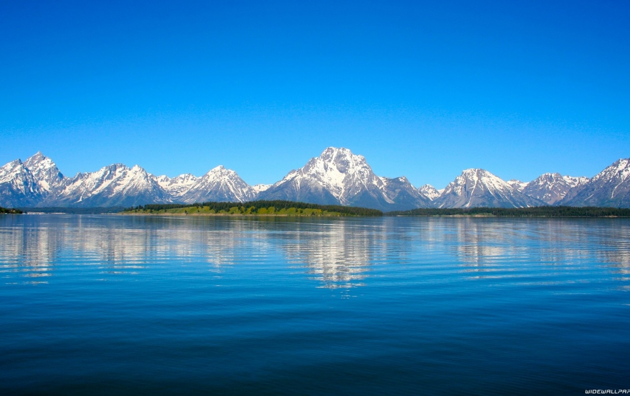 Clear Blue Sky Lake Mountain Wallpapers Clear Blue Sky