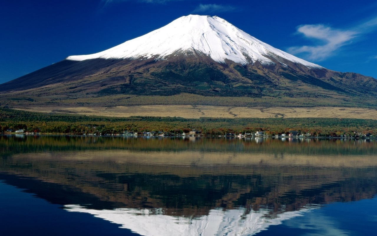 Japan Mount Fuji Lake Reflect Wallpapers Japan Mount Fuji