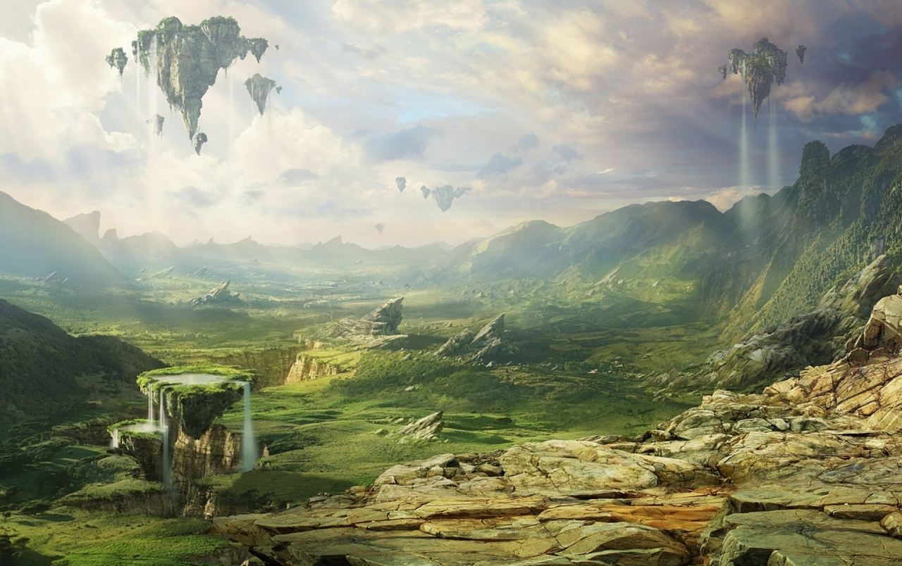fantasy landscape wallpapers | fantasy landscape stock photos