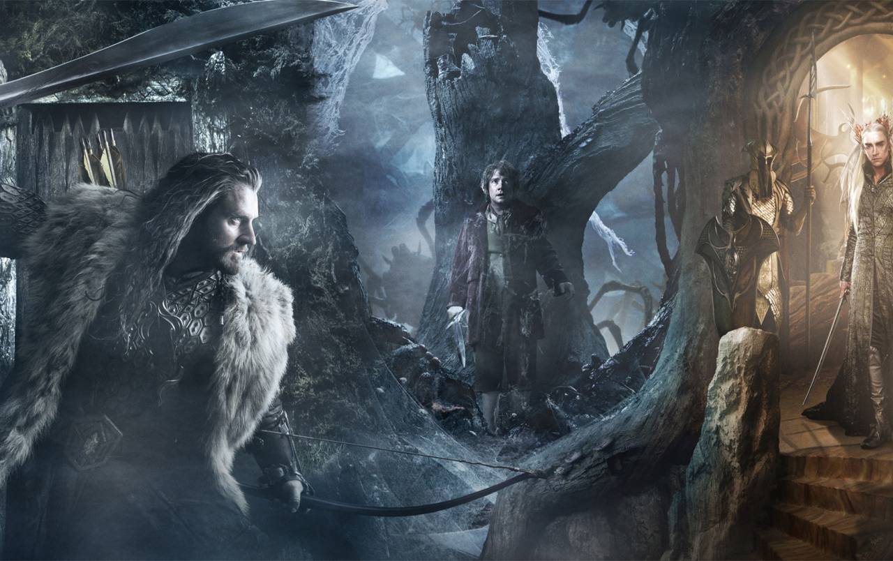 the hobbit the desolation of smaug trio wallpapers the