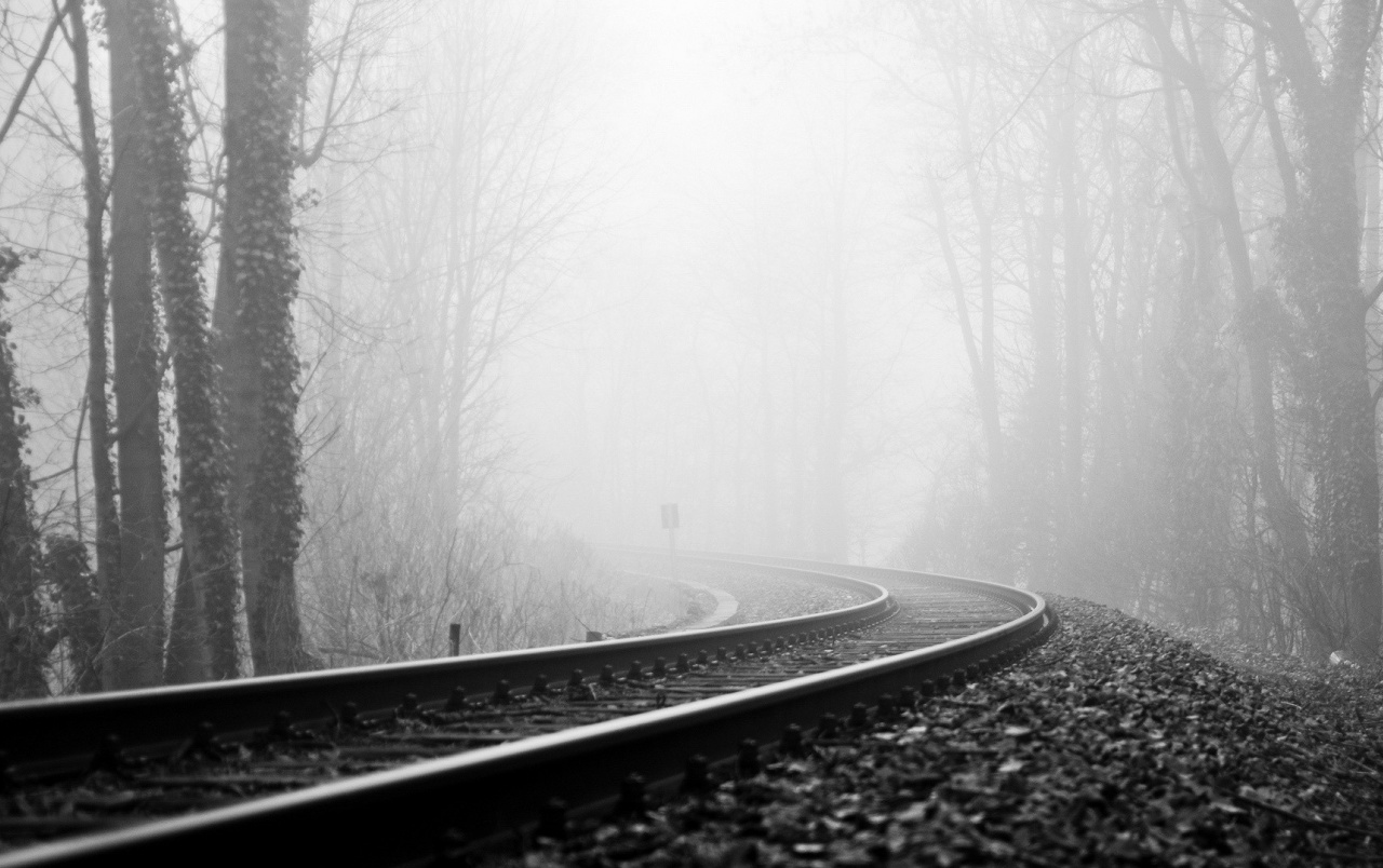 rail road fog