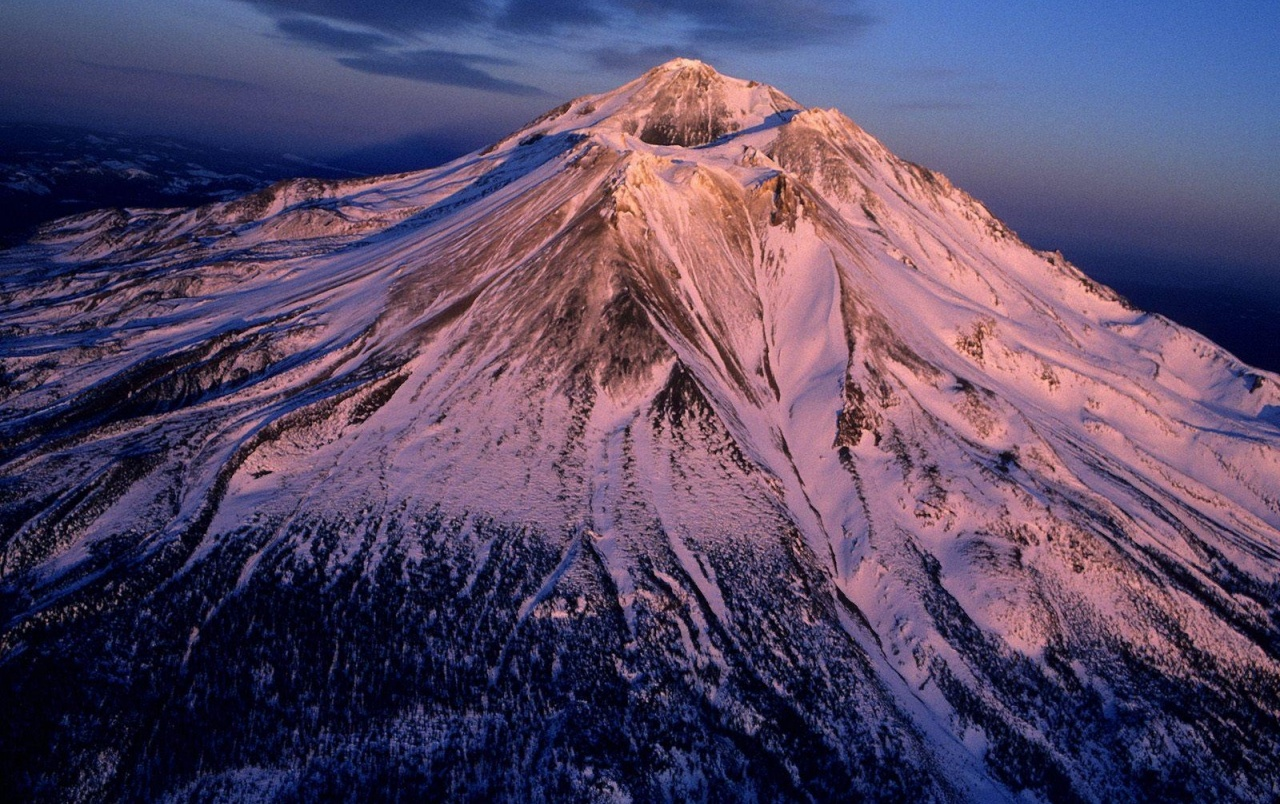Mount Shasta Volcano Usa wallpapers