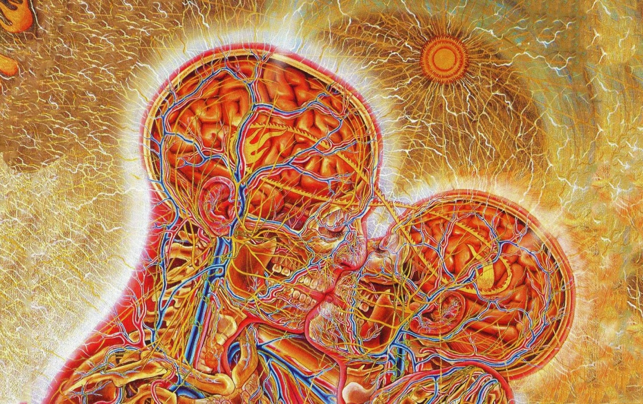 Abstract Psychedelic Art Parallax Hd Iphone: Psychedelic Couple Wallpapers