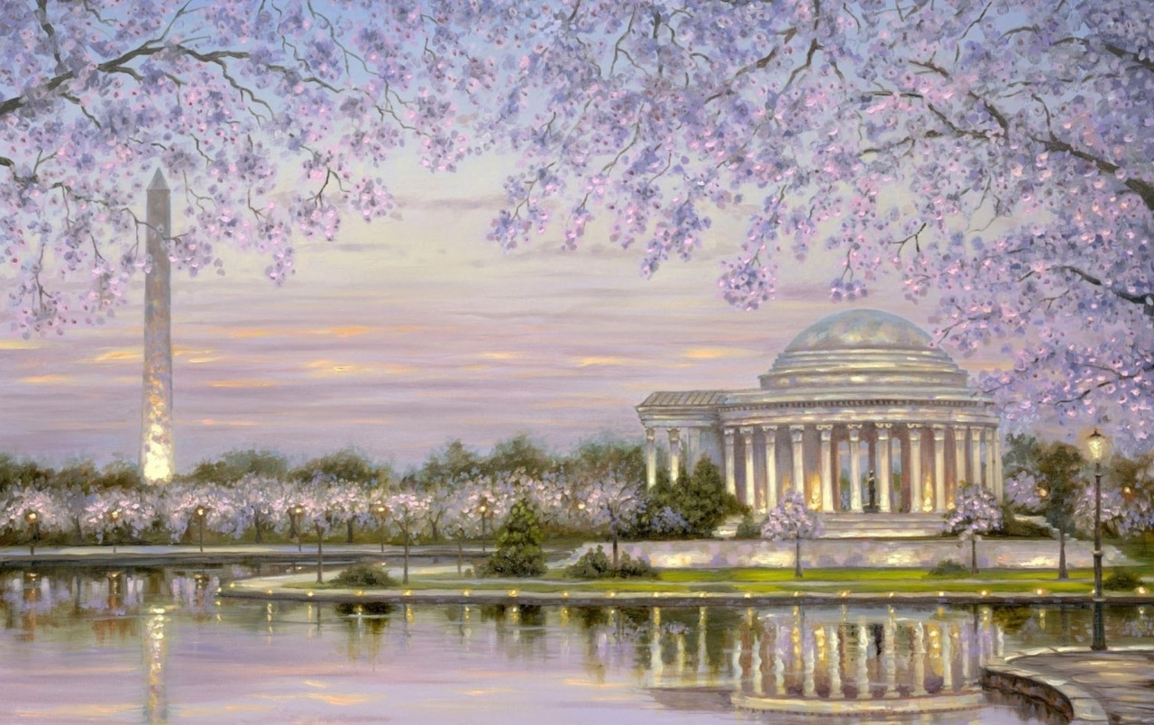 Washington Monument Painting wallpapers