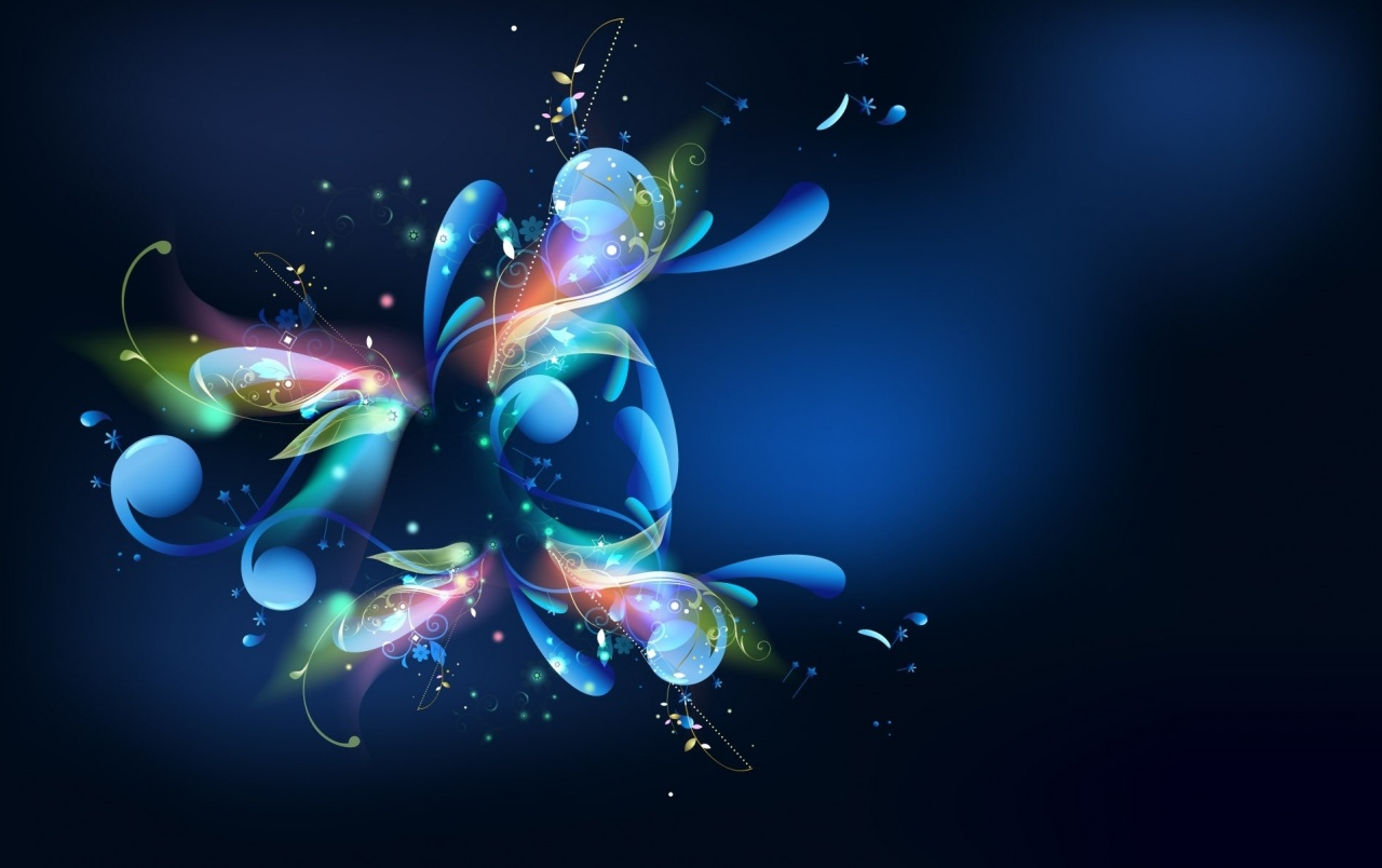 Multi Color Abstract Blossom wallpapers