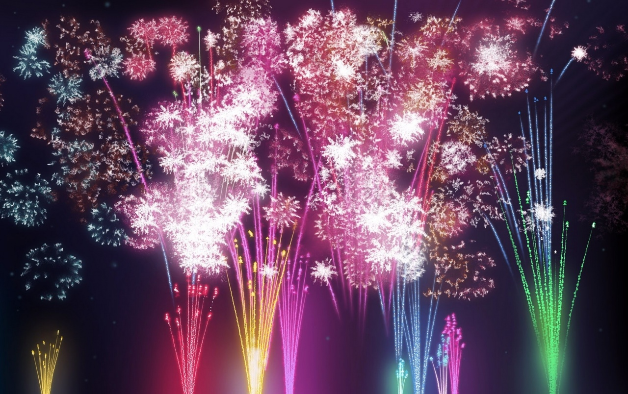 Multi Color Firework wallpapers
