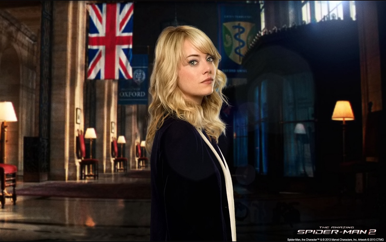 The Amazing Spider Man 2 Gwen Stacy Wallpapers The Amazing Spider