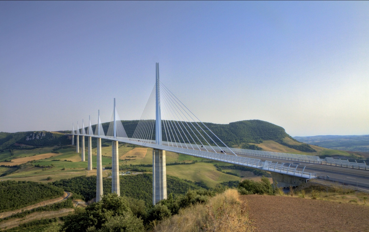 viaduc de millau bridge france wallpapers viaduc de millau bridge france stock photos. Black Bedroom Furniture Sets. Home Design Ideas