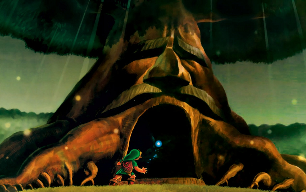 The Legend Of Zelda Deku Tree Wallpapers The Legend Of Zelda Deku