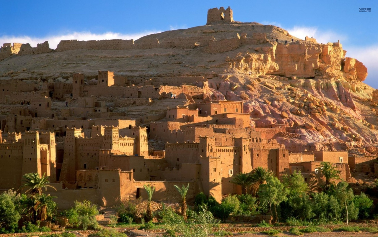 Kasbah Ruins Morocco wallpapers