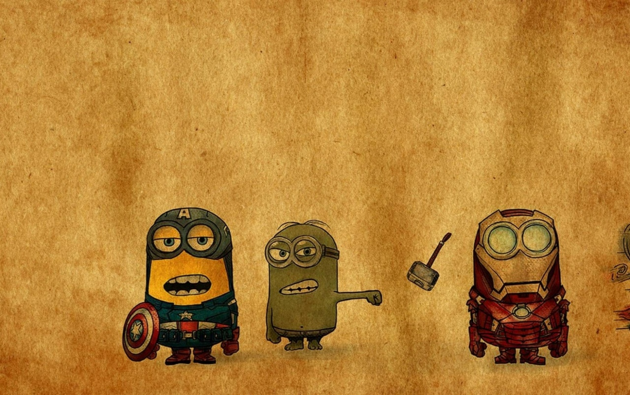 despicable me vs. avengers wallpapers | despicable me vs. avengers