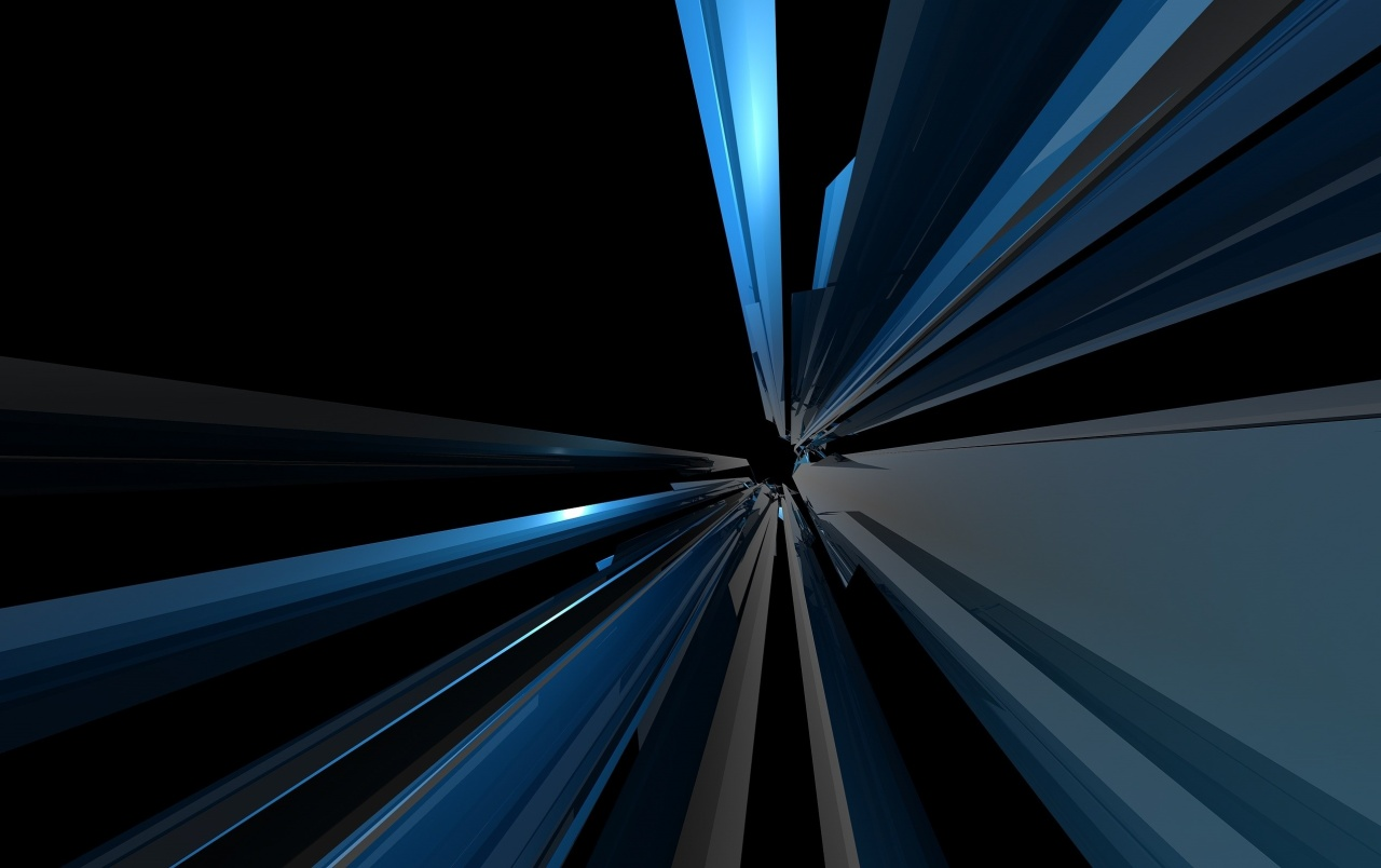 Abstract Blue Lines wallpapers