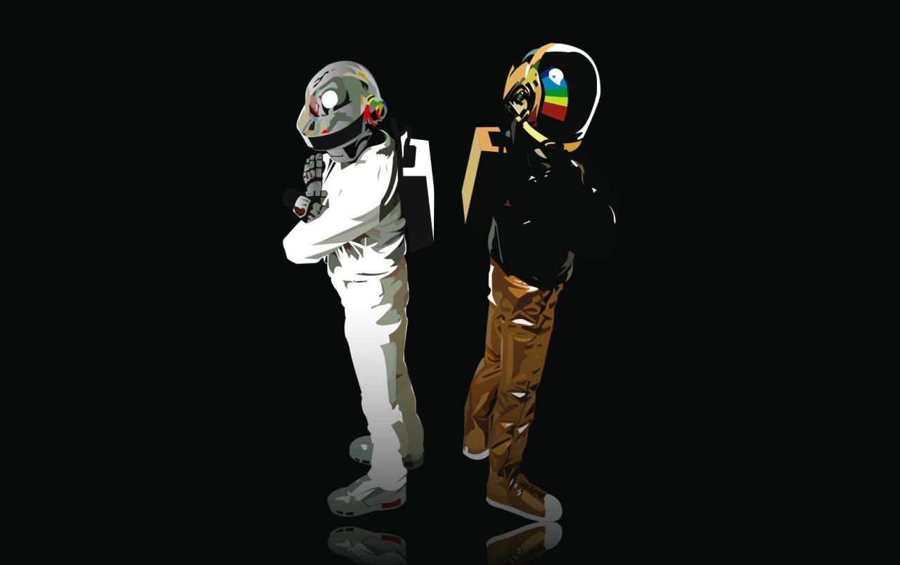 Daft Punk Illustration Wallpapers And Stock Photos