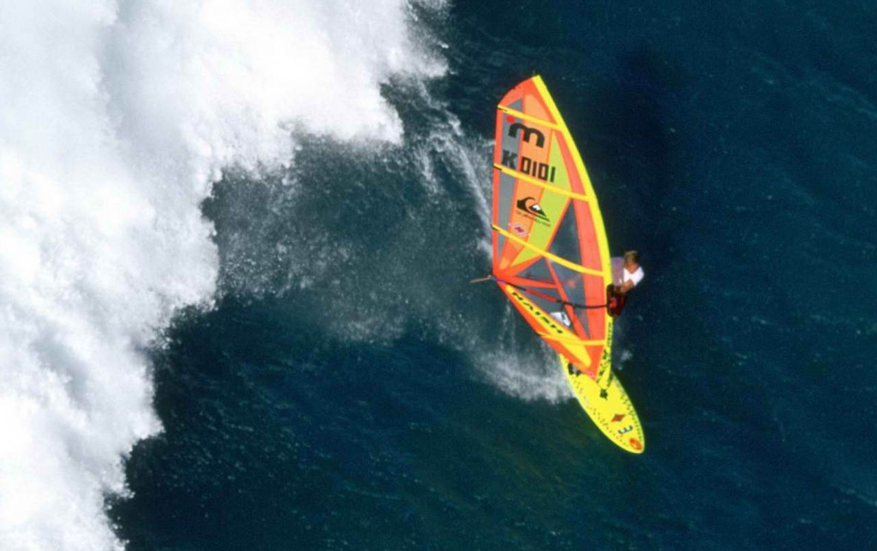 Windsurfer from Above wallpapers