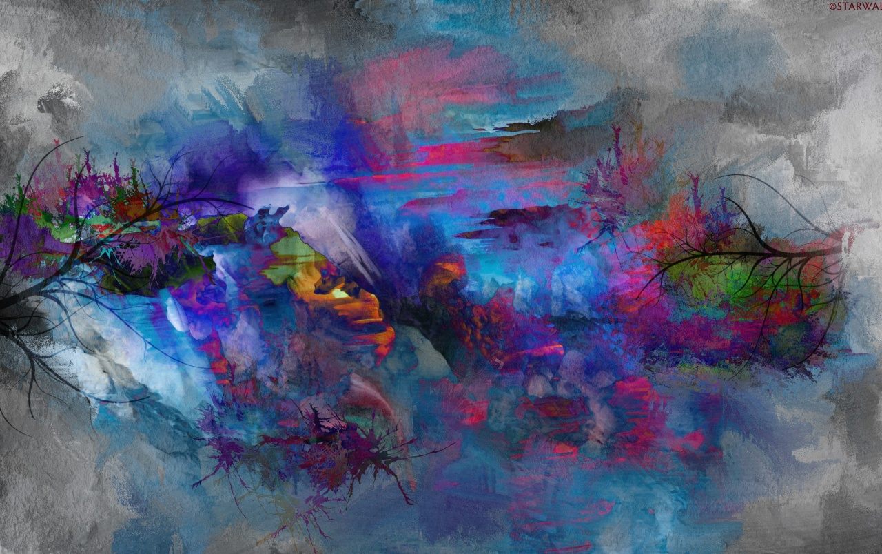 Abstract Nature Painting Wallpapers Abstract Nature