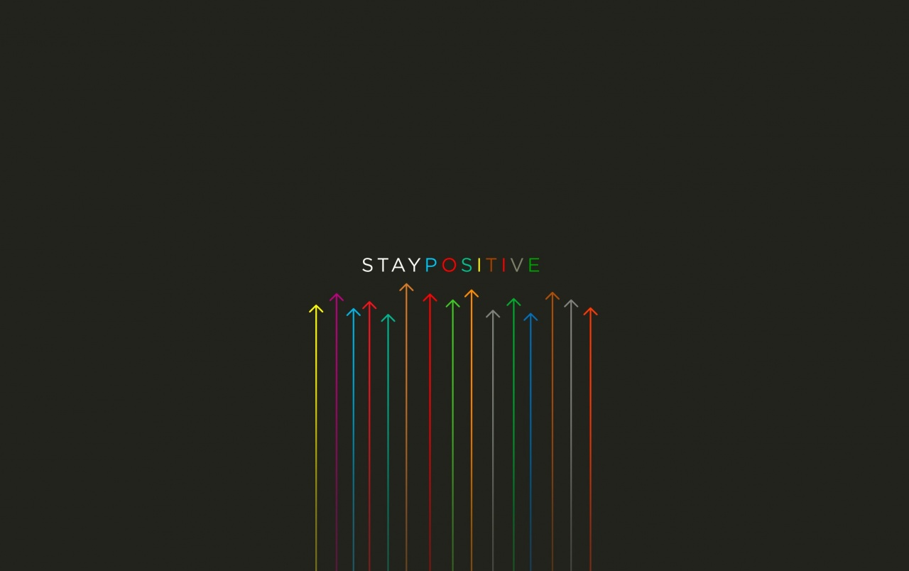 Wallpaper Stay Positive Quotes Hd Typography 3707: Stay Positive Stock Photos