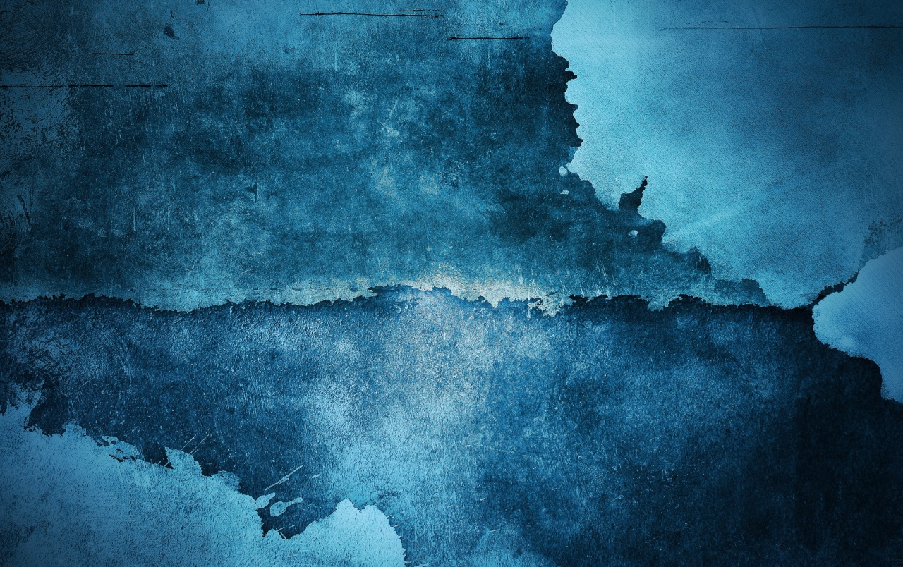 Blue Grunge Wall wallpapers