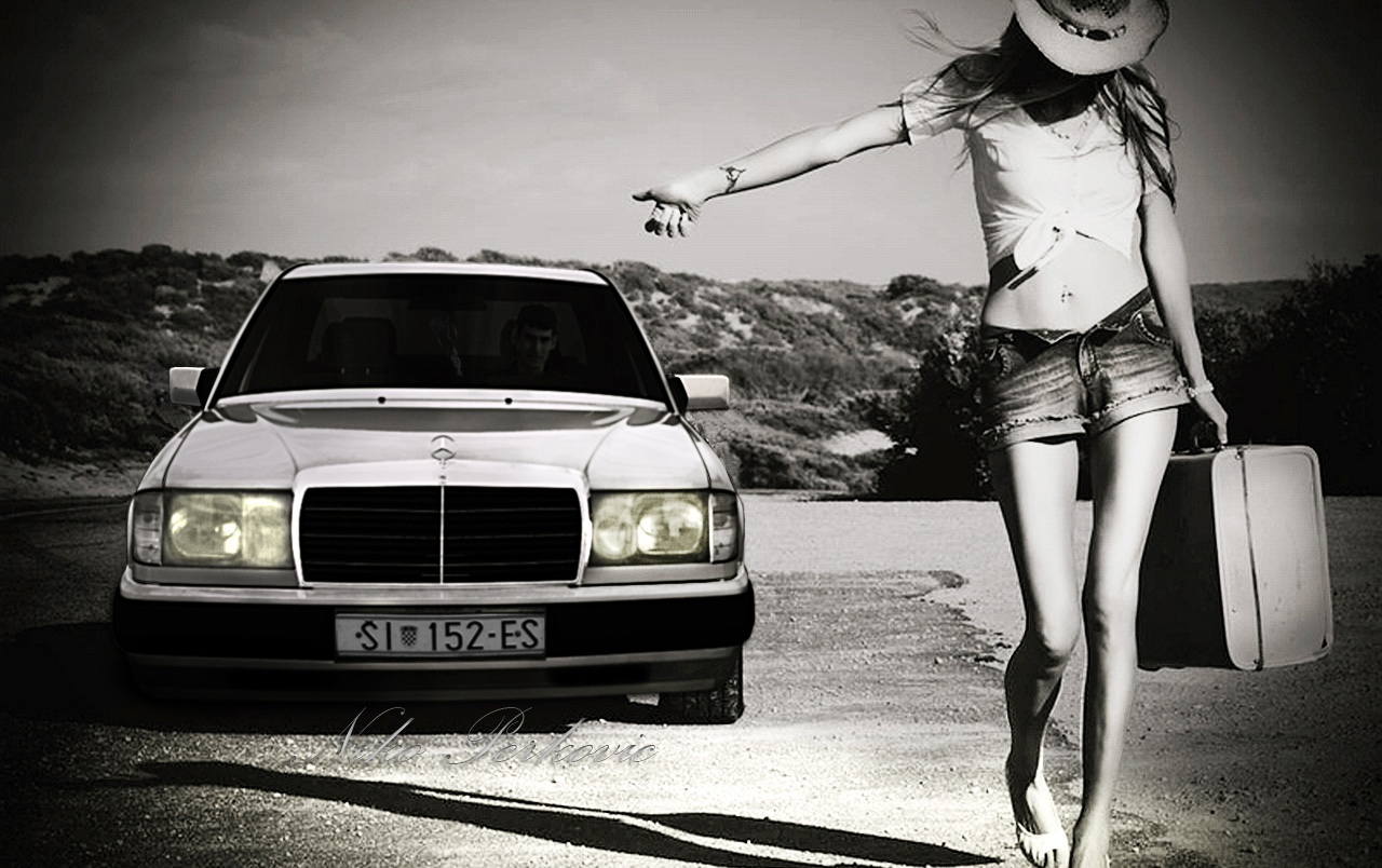 Mercedes W124 wallpapers