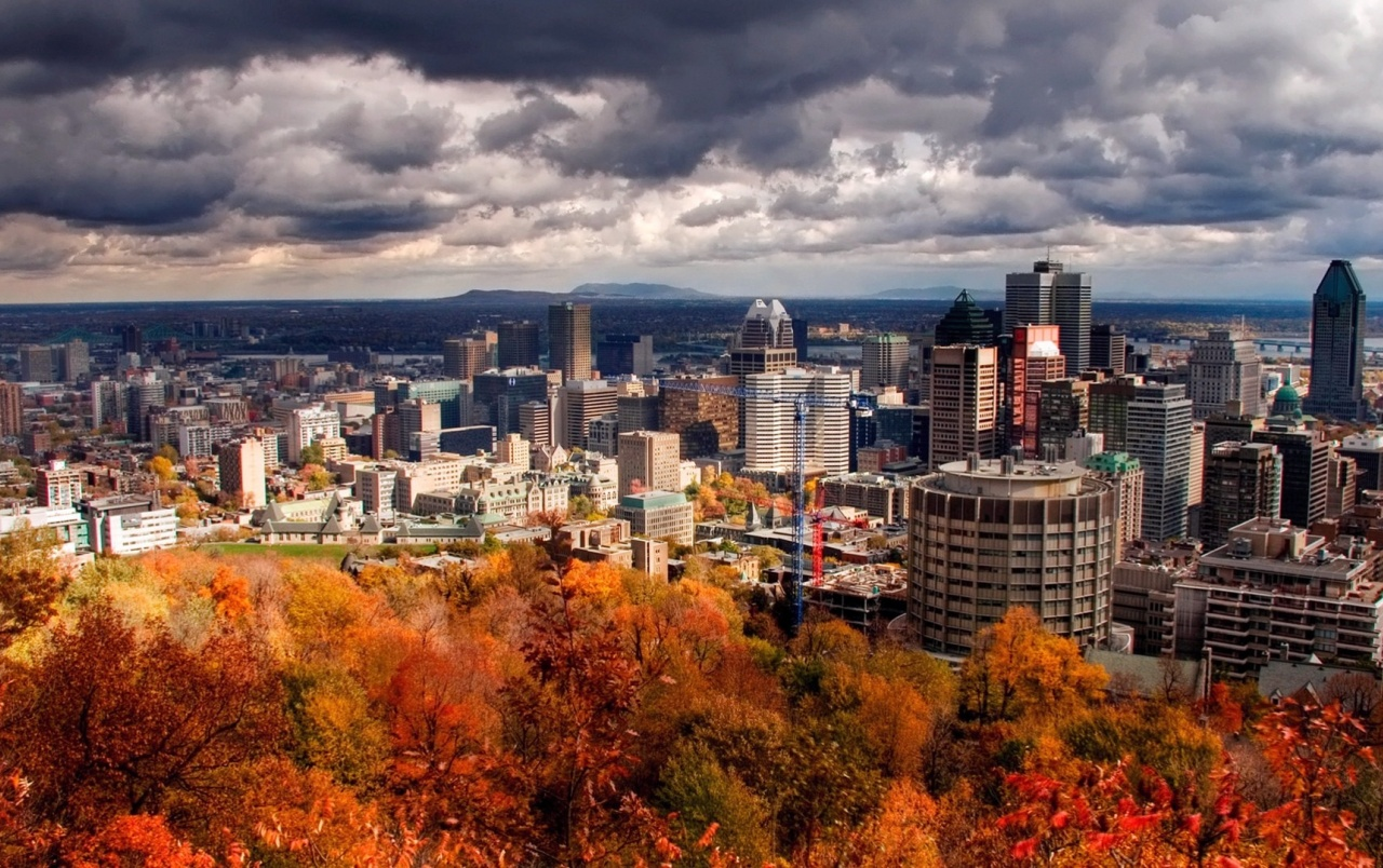 HD Montreal In The Autumn Wallpapers