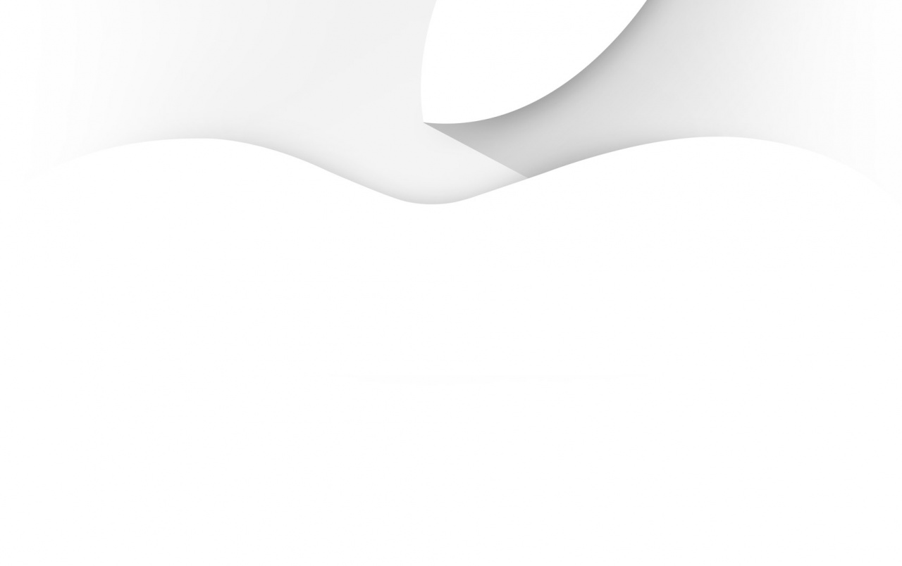 Simple White Apple wallpapers