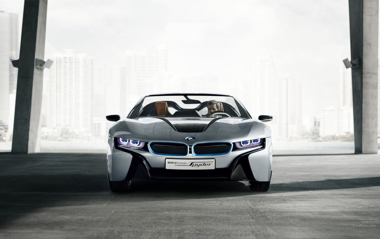 Bmw I8 Spyder Concept Wallpapers Bmw I8 Spyder Concept Stock Photos