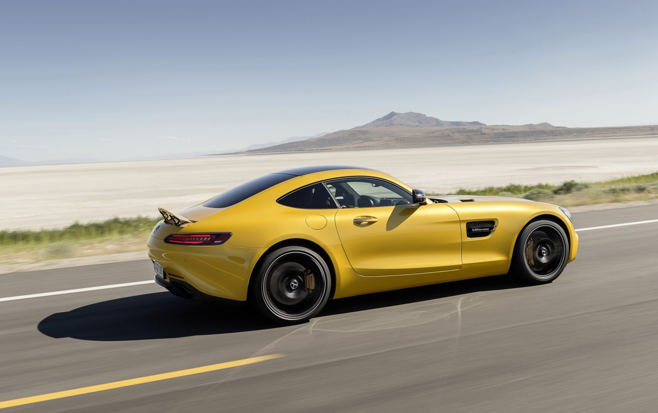 2015 Mercedes AMG GT Solarbeam Motion Side wallpapers   2015 ...