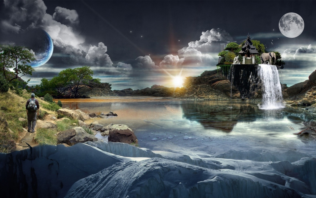 fantasy world wallpapers | fantasy world stock photos