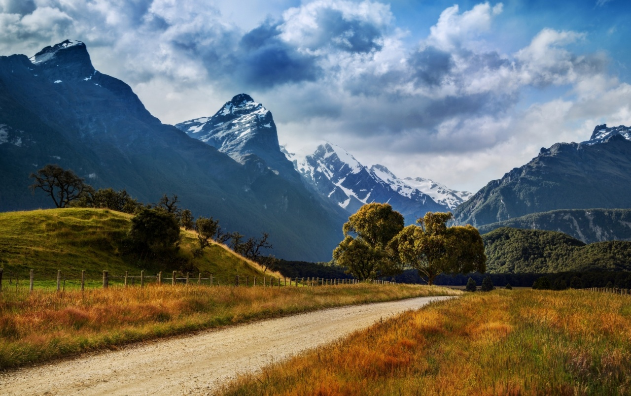 New Zealand Picture: New Zealand Summer Landscape Wallpapers