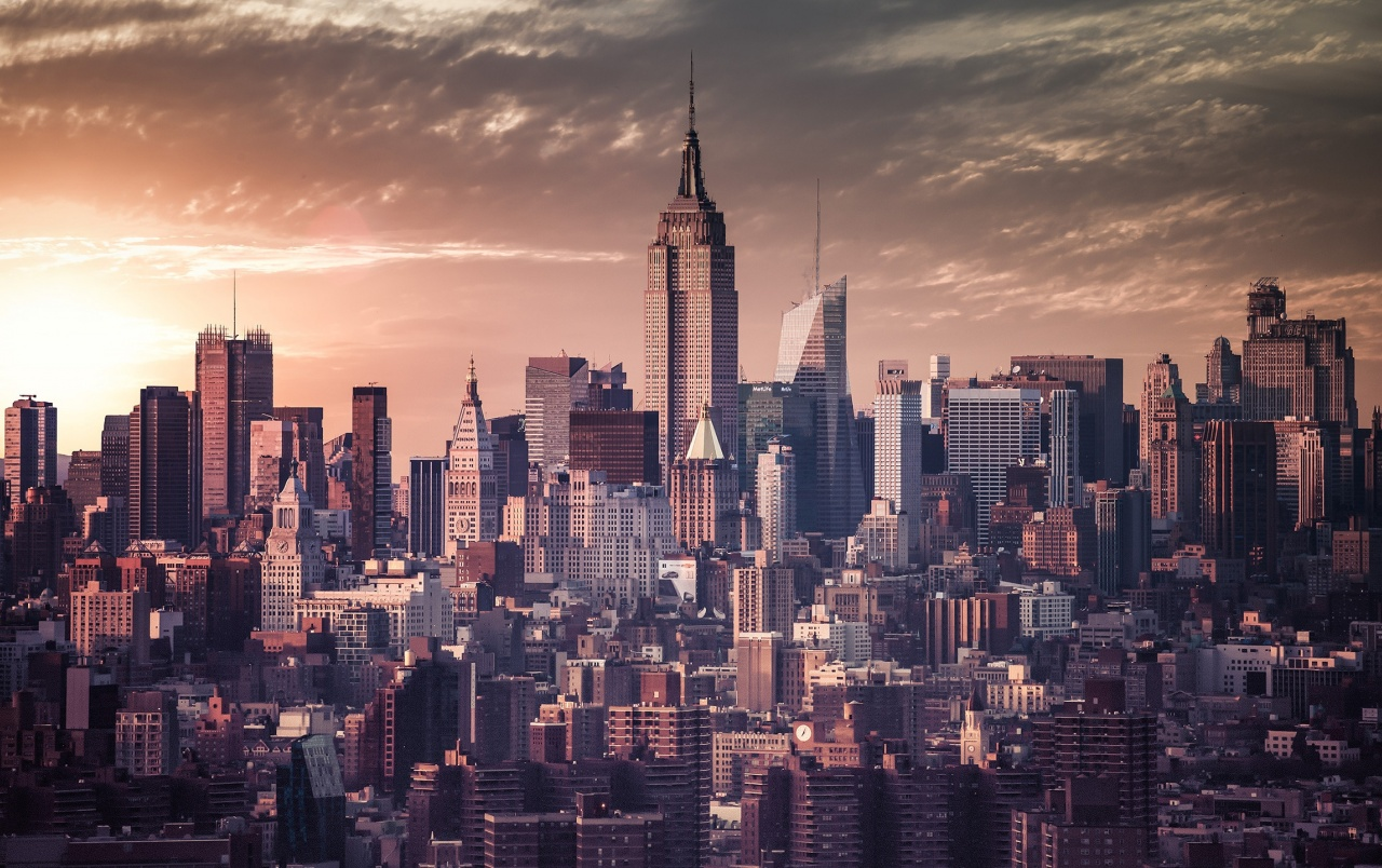 New York Vintage Effect wallpapers