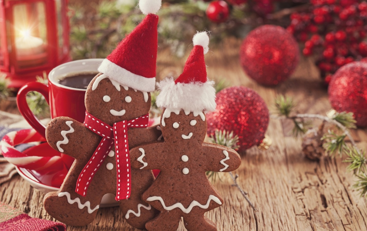 Playful Sweet Christmas Cookies wallpapers | Playful Sweet Christmas ...