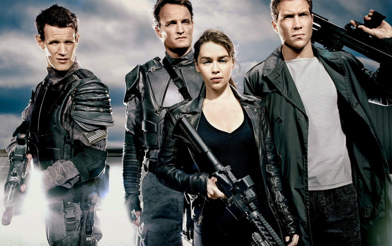 Terminator Genisys Characters wallpapers