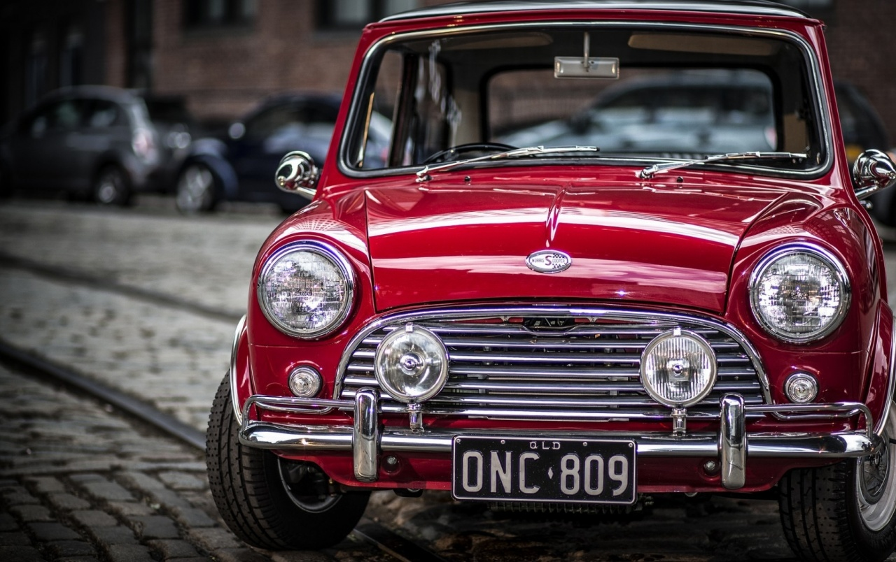 Old Mini Cooper S wallpapers