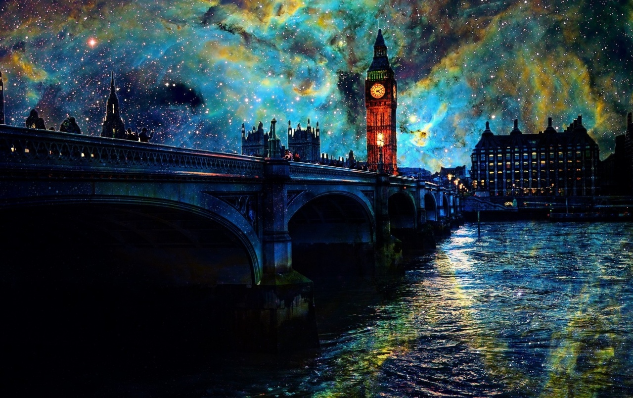 Fantasy Night in London wallpapers