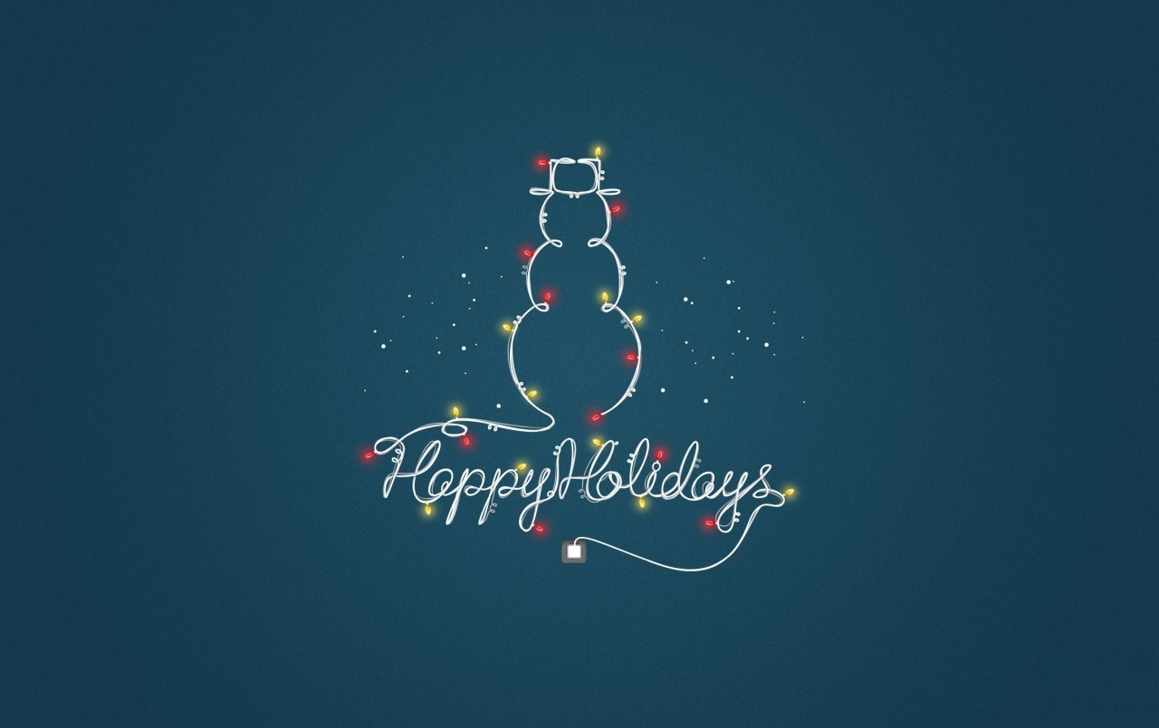 Wish You Happy Holidays wallpapers