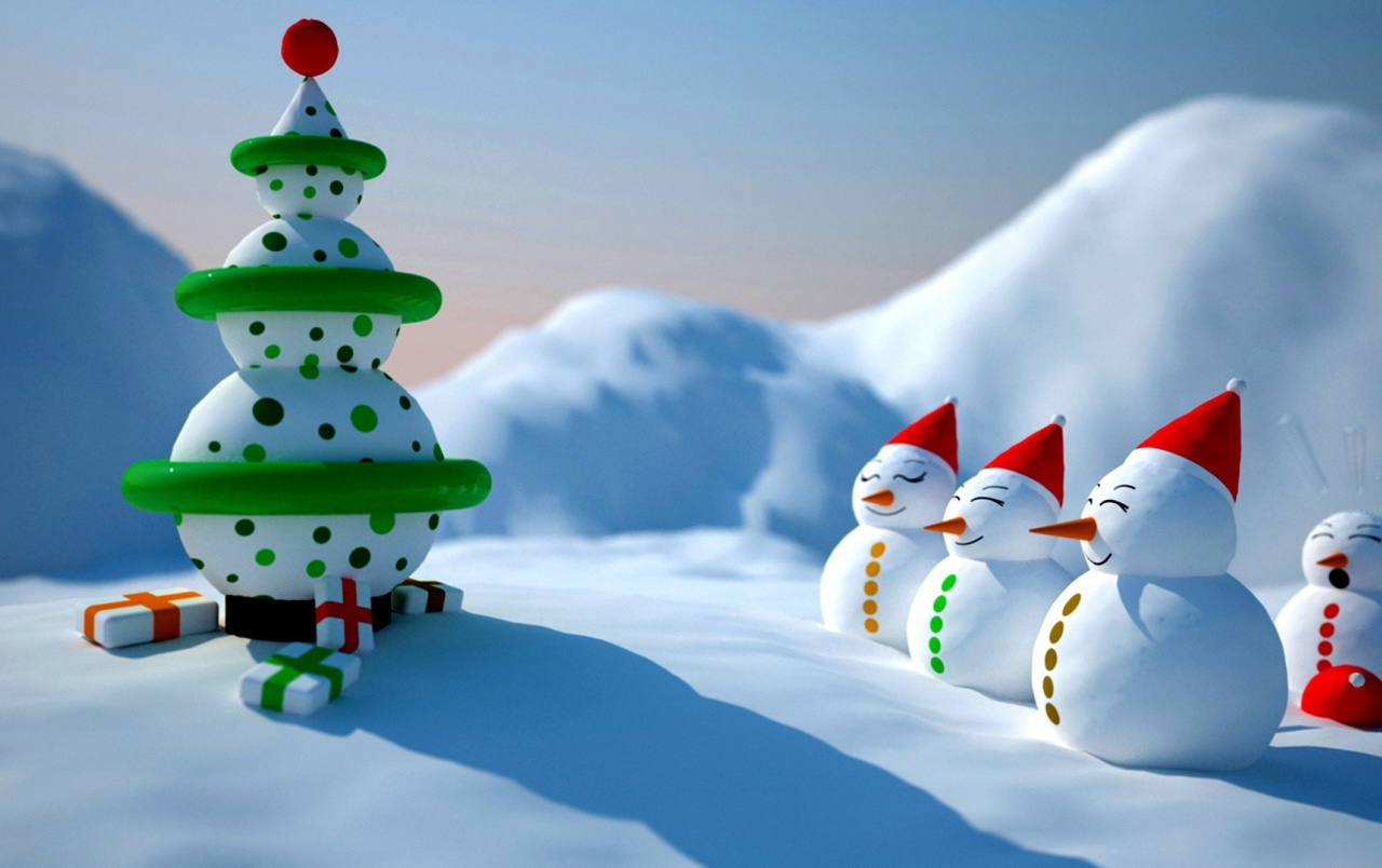 Snowman Christmas wallpapers