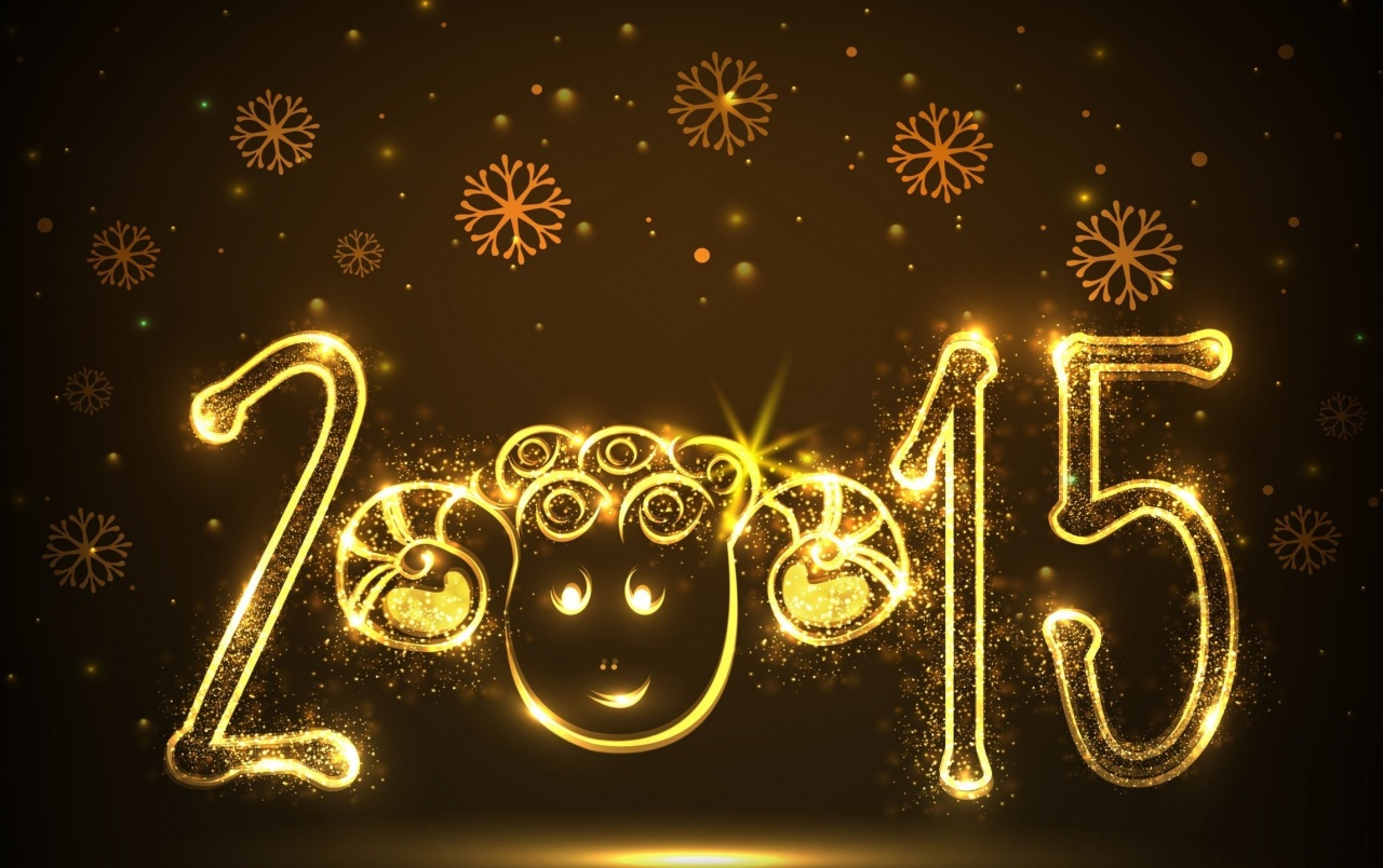 New Year Funny Face wallpapers
