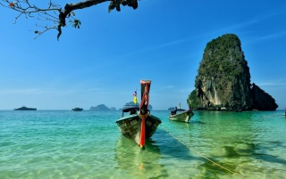 Railay Beach Thailand wallpapers