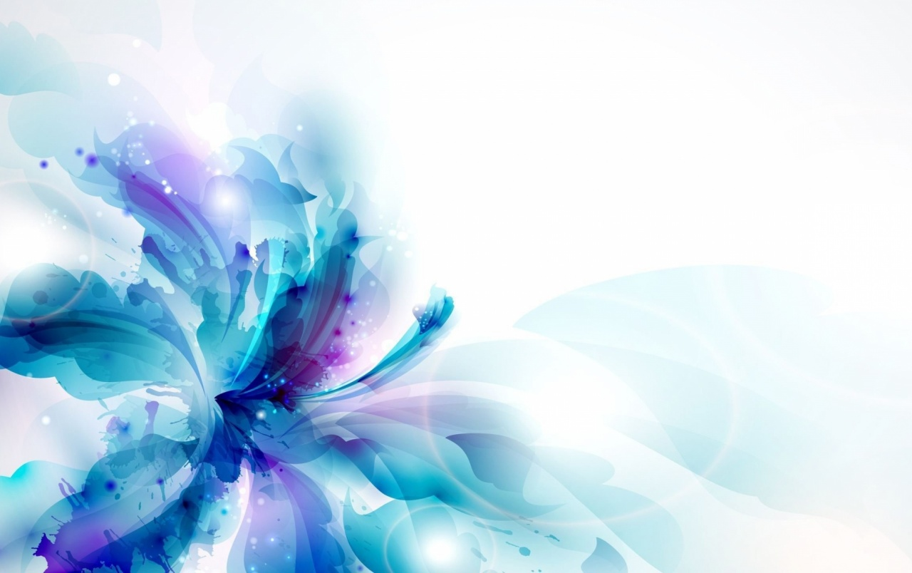 Blue Flower Drawing Abstract wallpapers and stock photos