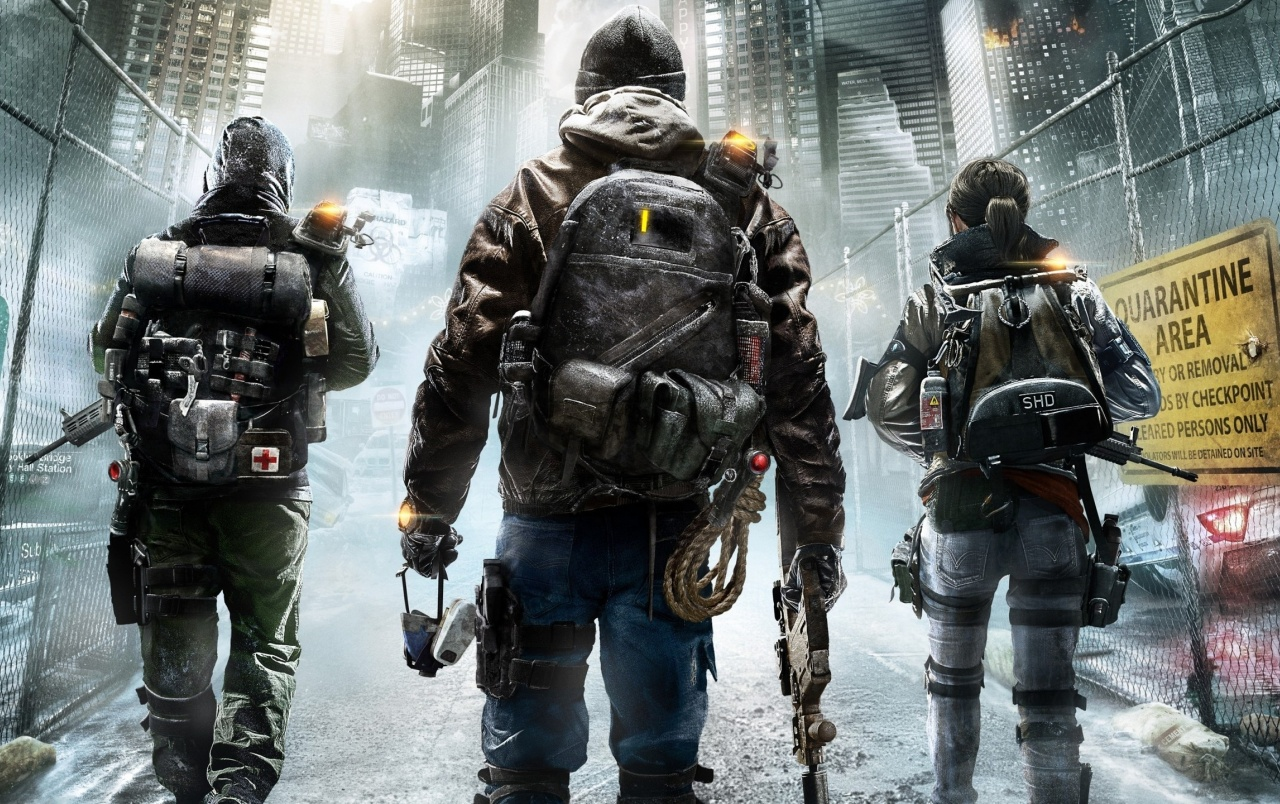 HD Tom Clancys The Division Wallpapers