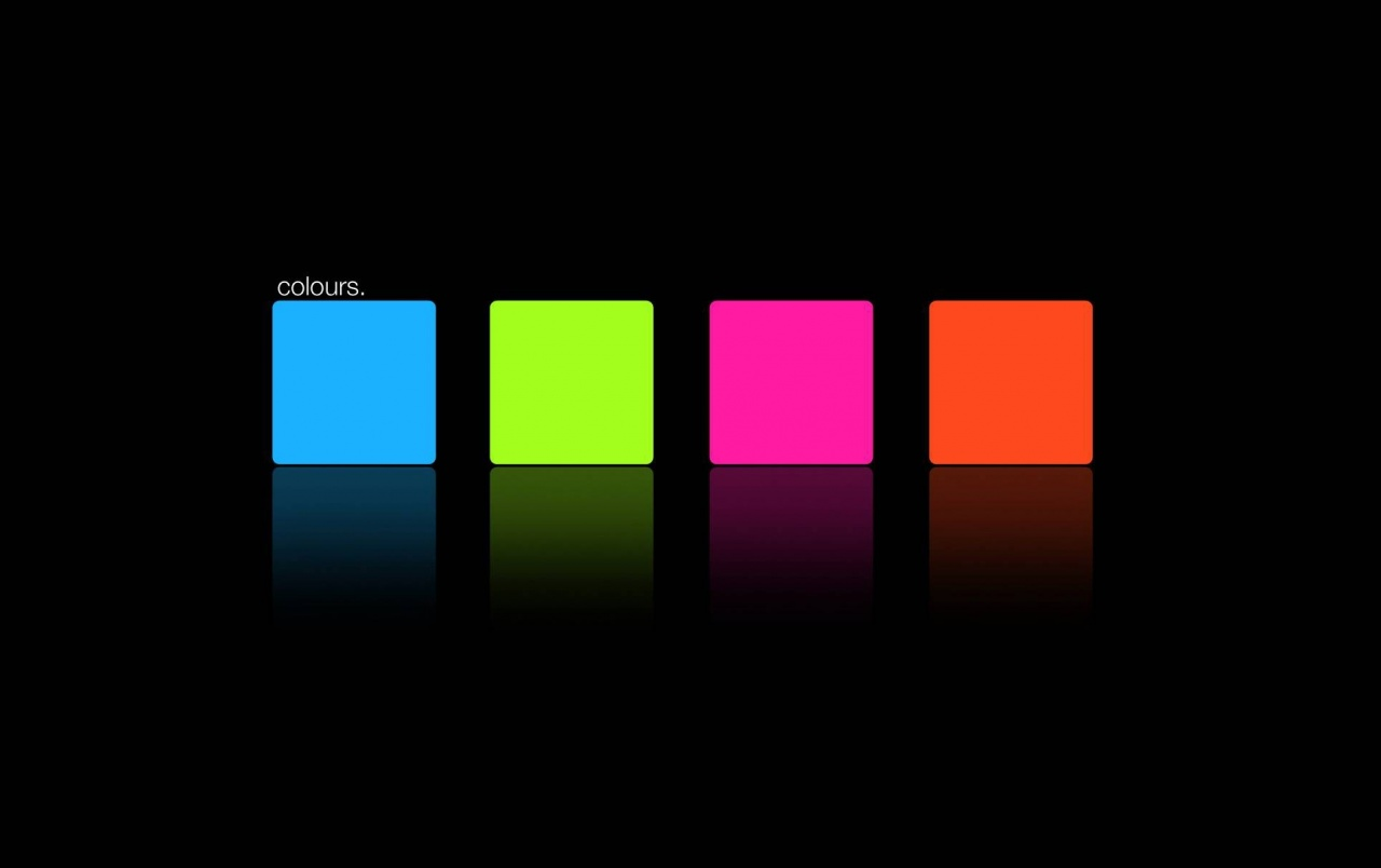 Blue Green Pink Orange Square wallpapers