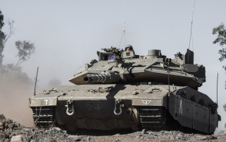 Merkava IV israelische Panzer wallpapers