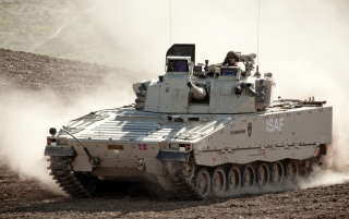 swedish combat vehicle cv 90 wallpapers