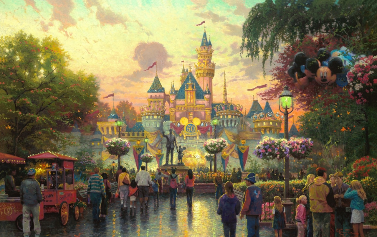 Walt Disney Castle Anniversary wallpapers